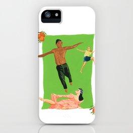 Three Dancers iPhone Case