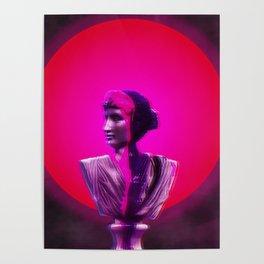 Vaporwave Glow Poster