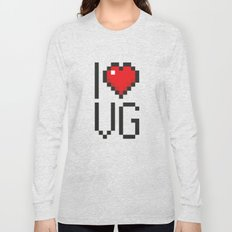 PAUSE – I Love Video Games Long Sleeve T-shirt