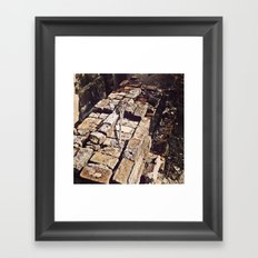 Some Tales Were Not Meant to be Told Framed Art Print
