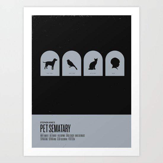 Pet Sematary Art Print