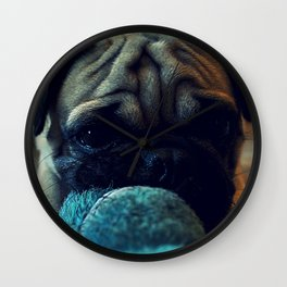 puggy Wall Clock