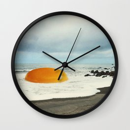 Beach Egg Wall Clock