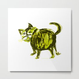 Fat cat 3 Metal Print