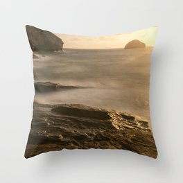 On the Waterfront III Throw Pillow