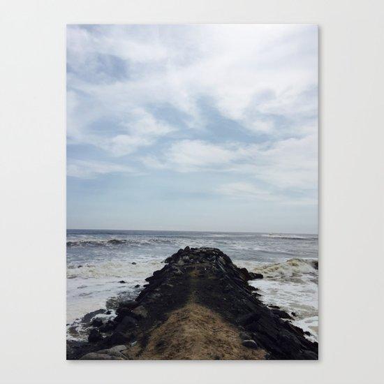 Rock Dock Canvas Print