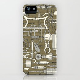 fiendish incisions sage iPhone Case