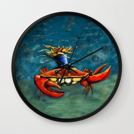 Crabynni Wall Clock
