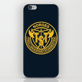 Troll Security Service iPhone Skin