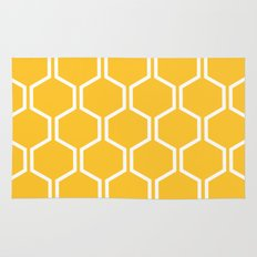 BEAUTY OF NATURE (bee , bees , yellow) Rug