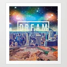 dreamcity3 Art Print