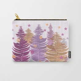 Christmas Trees #buyart #Christmas #Society6 Carry-All Pouch