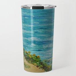 Seaside Cottage Travel Mug