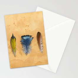 Midwest Feathers Stationery Cards