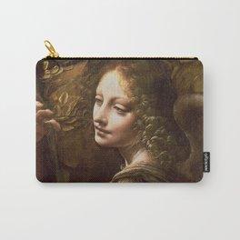 "Leonardo da Vinci ""The Virgin of the Rocks (London)"" Angel Carry-All Pouch"