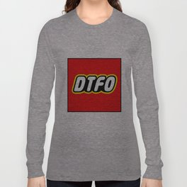 D.T.F.O. Design by Outlet710.com Long Sleeve T-shirt