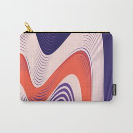 Pink Red Blue lines Carry-All Pouch