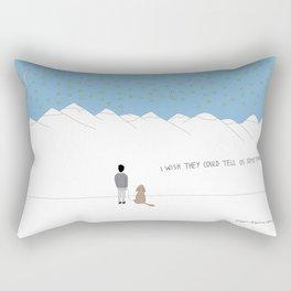 Something Rectangular Pillow