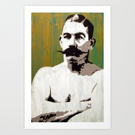 """Boston Strong Boy"" John L. Sullivan Art Print"