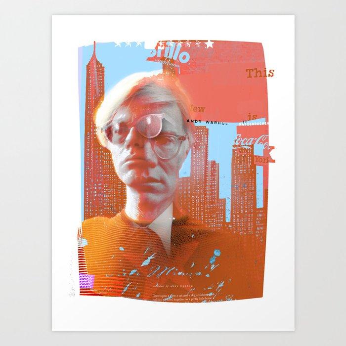 Warhol... Art Print