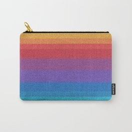 Woven Rainbow 04  Carry-All Pouch