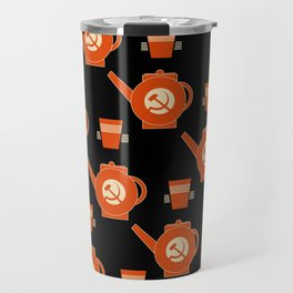 soviet pattern Travel Mug