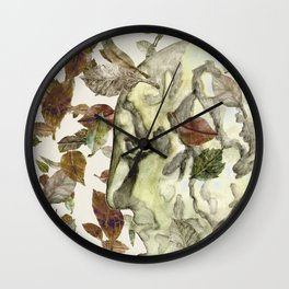 Green Man of the Forest Wall Clock