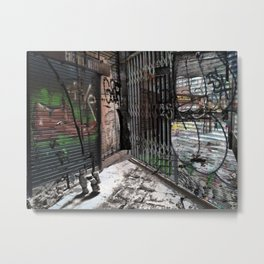 Force the corners, and horn in on the commotion, 2 Metal Print