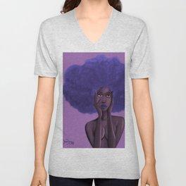Afro Blu Unisex V-Neck
