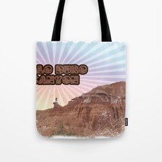 Retro Palo Duro Canyon Tote Bag