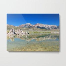 Mono Lake in California Metal Print