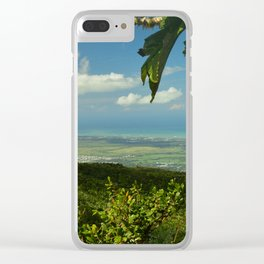 View of the Puerto Rico East Coast - from El Yunque rainforest Clear iPhone Case