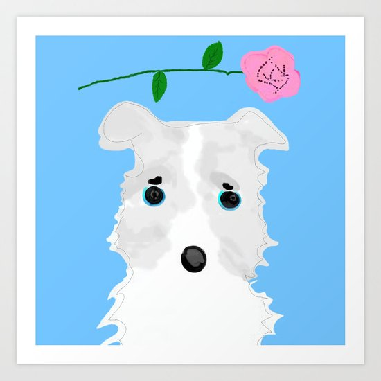 Looking for new family Art Print