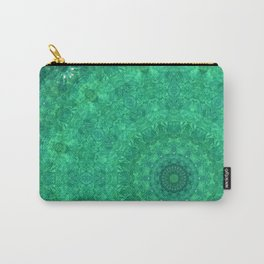 Green Austrian Lake Carry-All Pouch