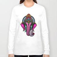 buddha Long Sleeve T-shirts featuring buddha by mark ashkenazi