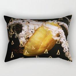 Golden Burn (nautic animal, nature photography) Rectangular Pillow