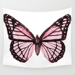 Monarch Butterfly Pink Dream Wall Tapestry