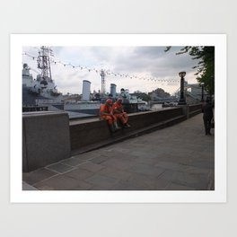 Worker Art Print