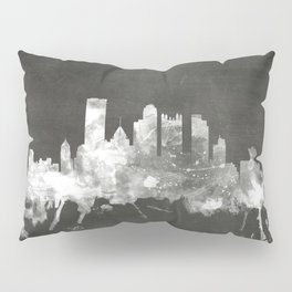 Pittsburgh Pennsylvania Skyline Pillow Sham