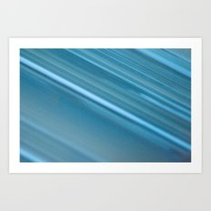 LINES OF BLUE #1 #decor #art #society6 Art Print