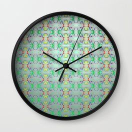 Softly colorful classic pattern ... Wall Clock
