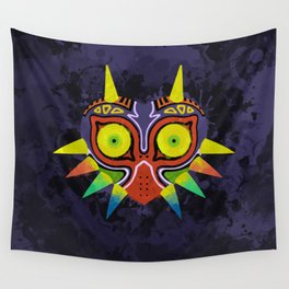 Majora's Mask Splatter Wall Tapestry