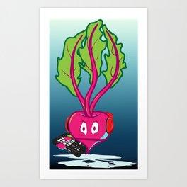 Beets Making Beats Art Print