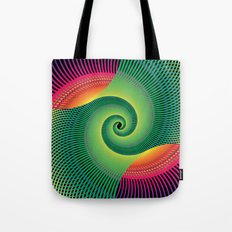 Double Spiral  Tote Bag