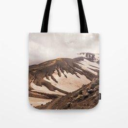 Volcanic Graphics Tote Bag