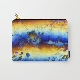 ABSTRACT - My blue heaven Carry-All Pouch