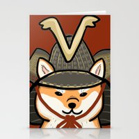 shiba Stationery Cards featuring Shiba Inu by Lottie