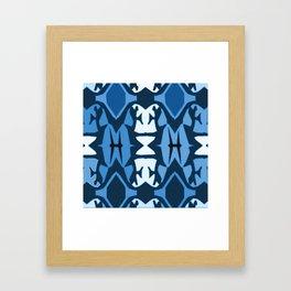 blue3 Framed Art Print