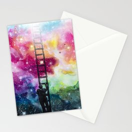 Show me the way out of this darkness Stationery Cards