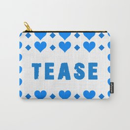 Tease - blue Carry-All Pouch